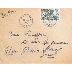 PALIME   TOGO  1954