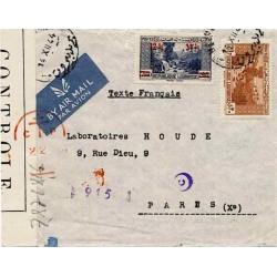 enveloppe liban WWII
