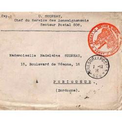 1916 COMMANDANT MILITAIRE DE MYTILENE