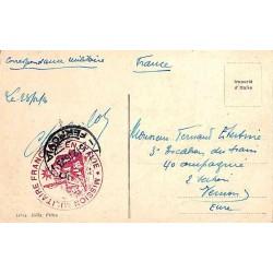 1916 MISSION FRANCAISE  EN ITALIE Livourne