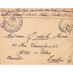 1916 SECTION DES VOITURES DE TOURISME DU QUARTIER GENERAL