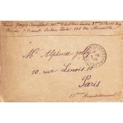 1916 TRESOR ET POSTES * 501-A*