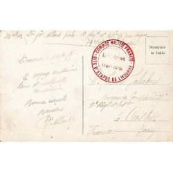 1917 COMMISSION MILITre FRANCse - GITE D'ETAPES DE LIVOURNE