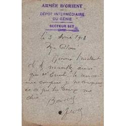 1918 DEPOT INTERMEDIAIRE DU GENIE   SECTEUR 517