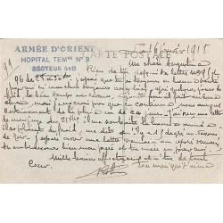 1918 HOPITAL TEMre N° 9 SECTEUR 510