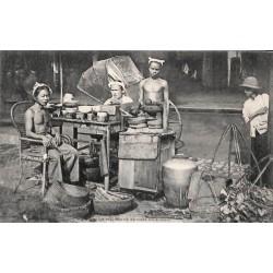 Le marchand de café ambulant