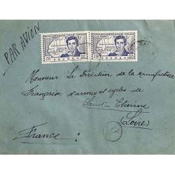 1942 Lettre avion...