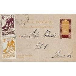 1945 Carte postale entier...