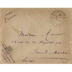 1921 TRESOR ET POSTES * 606...