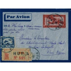 HUE A  ANNAM 1936