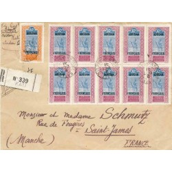 1931 lettre recommandée...