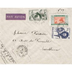 1942 Lettre FM avion pour...