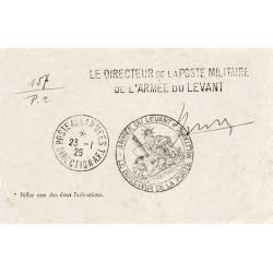 1926 ARMEE DU LEVANT * LE...