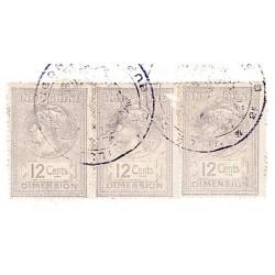 Dimension 3 timbres à 12...