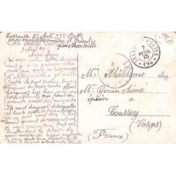 1915 Timbre à date TRESOR...