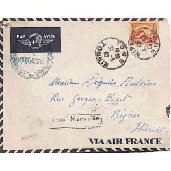 1940 Lettre FM avion pour...