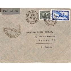 1939 Lettre avion Saigon...