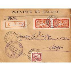 BACLIEU * SUD VIET-NAM *  1951