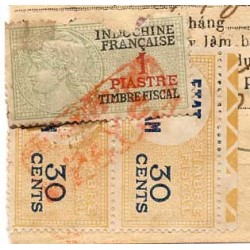 Timbres fiscaux 1953...