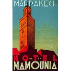 MARRAKECH HOTEL DE LA MAMOUNIA