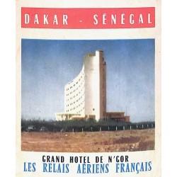 DAKAR - SENEGAL  GRAND HOTEL DE N'GOR
