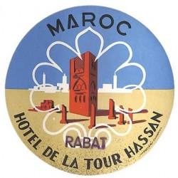 MAROC RABAT HOTEL DE LA...