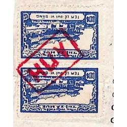 Hué 1972 - 2 timbres...