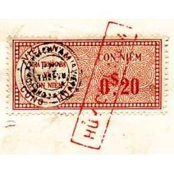 Vietnam 1977 Quittance de...