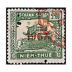 Saigon Cholon regional revenue stamp