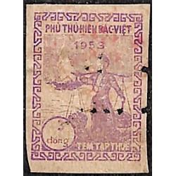 Bac Viet (Nord Vietnam) timbre fiscal