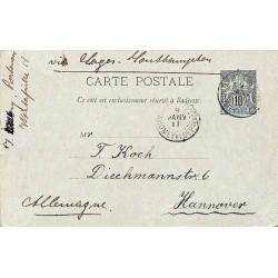 1911 PORTO - NOVO DAHOMEY