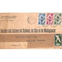 1948 Lettre pour Madagascar...