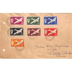 1945 Lettre pour l'Ethiopie...