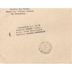 CHEQUES-POSTAUX TANANARIVE