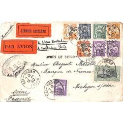 1930 Lettre avion à 1 $ 41...