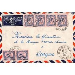1948 Lettre à 60 c pour...