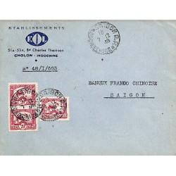 1948 Lettre locale  à 60 c...