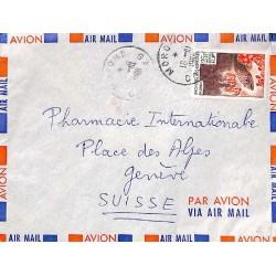 1966 MORONI COMORES lettre...