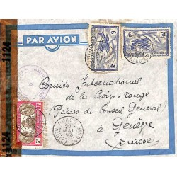 OUACO NELLE-CALEDONIE Cachet  CENSURE ALLIEE NOUVELLE CALEDONIE 8