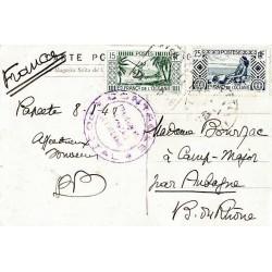 1940 Carte postale...