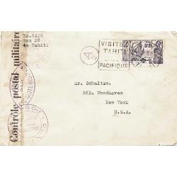 1939 Lettre pour les USA...