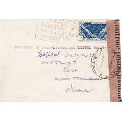 1945 Lettre pour la France...