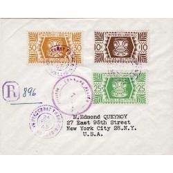 1945 Lettre pour les USA à...