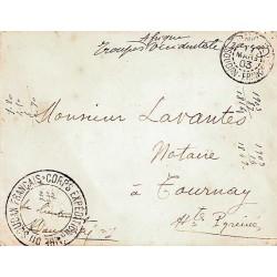 1903 Lettre FM de...
