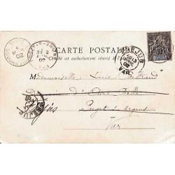 1902 Carte postale NIORO...