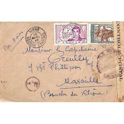 1942 Lettre à 5 f.  de...