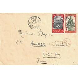 1940 Lettre pour la Suisse...