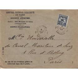 1927 Lettre avec Levant 71...