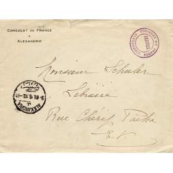 1916 Lettre locale CONSULAT...