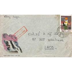 Lettre pour le Laos 1978...